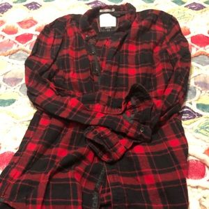 Red and Black Plaid Great Outdoors On the Road